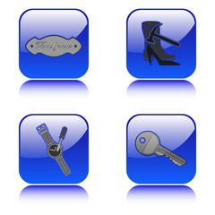 Schlüsseldienst-Uhrenservice-Gravur-Schuhmacher Logos