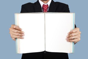 Blank book
