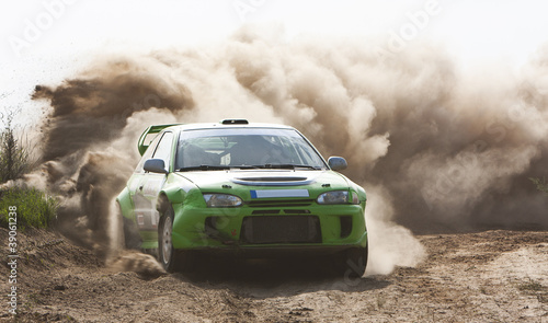 Staande foto Motorsport Rally