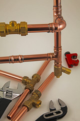 pipework and tools