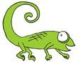 Comic camaleón