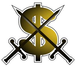 Emblema dolar