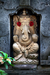 The Indian God Ganesha, Bali, Indonesia