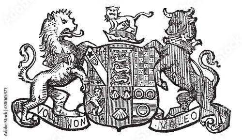Volo Non Valeo a family motto assigned by King Charles II, vinta