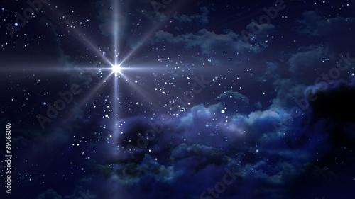 blue Starry Night - 39066007