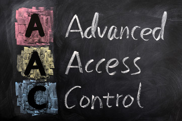 Acronym of AAC for Advanced Access Control