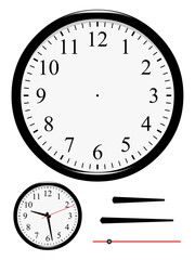 Horloge à mettre à l'heure