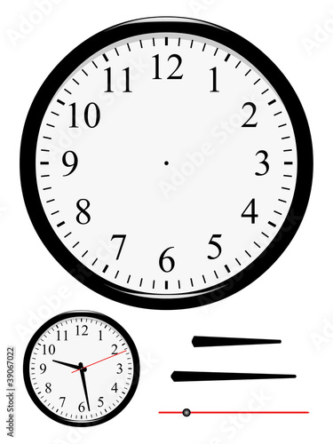 Horloge à mettre à l'heure - 39067022