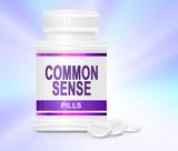 Common sense tablets. poster