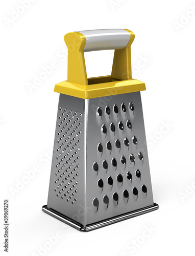 Grater isolated on white background - 3d render