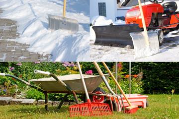 Winterdienst und Gartenpflege