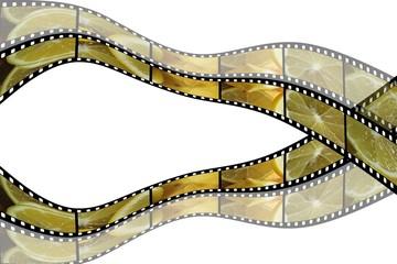 Filmstreifen Zitrone