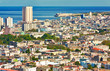 Beautiful view of Havana on a a sunny day