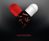 anti-drug campaign poster