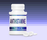 Antihistamine medication.