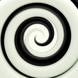 Black and white twirl as an abstract background