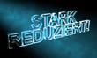 3D Blauer Nebel - STARK REDUZIERT