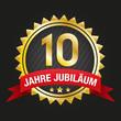 10 Jahre Jubiläum Design