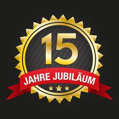 15 jahre jubiläum