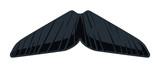 Cartoon Chevron Mustache poster