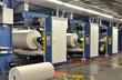 Druckmaschinen mit Papierrollen // printing press
