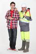 Foreman and student