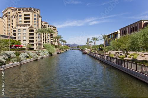 Scottsdale Arizona Waterfront District - 39083626