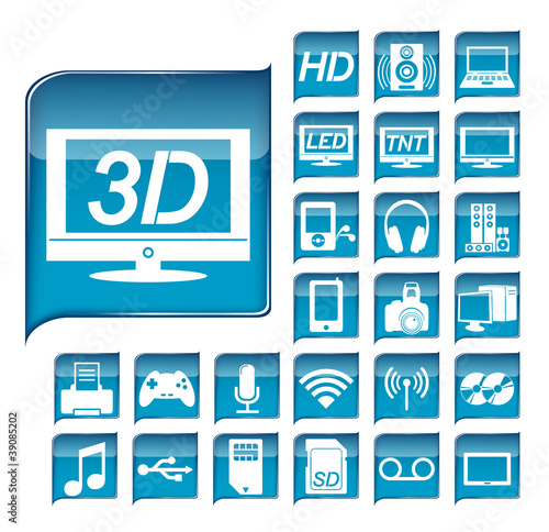 Multimedia Icons Kit