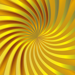 Yellow spiral vortex
