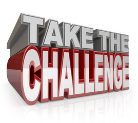 Take the Challenge 3D Words Action Initiative