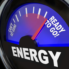 Energy Fuel Gauge Ready to Go