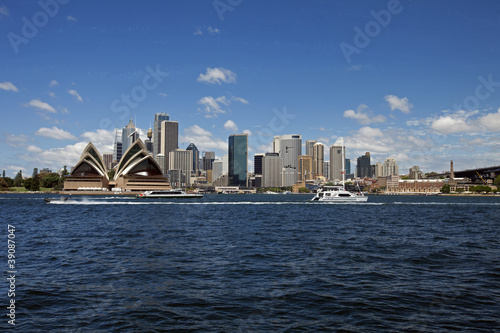 Sydney harbour and downtown, Australia