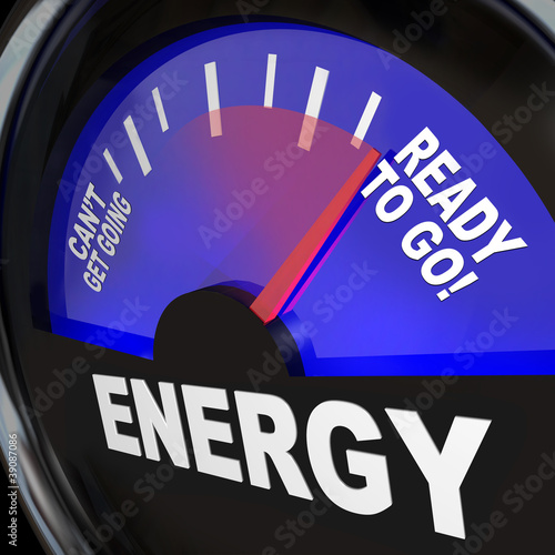 Energy Fuel Gauge Ready to Go