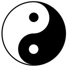 Yin & Yang symbole