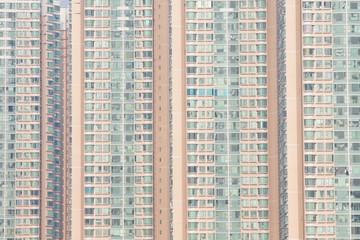Packed Hong Kong apartments
