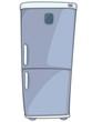 Cartoon Home Kitchen Refrigerator
