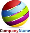 Rainbow Sphere Logo