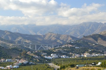 mountains between Nerja and mortil