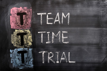 Acronym of TTT for Team, Time, Trial