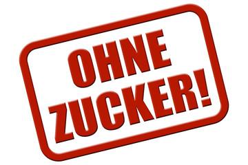 Stempel rot re OHNE ZUCKER!