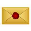 Vector gold letter