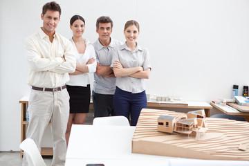 Joyful architects team