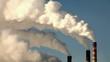 thermal power plant, time-lapse, smoke