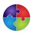 Circular Puzzle Graphic