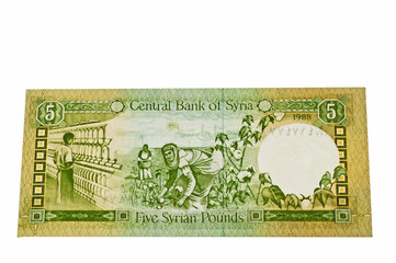 Syrische Währung Pfund