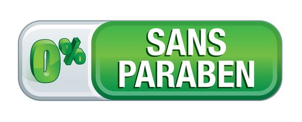 produit sans paraben : 0% de paraben