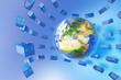 Global freight traffic