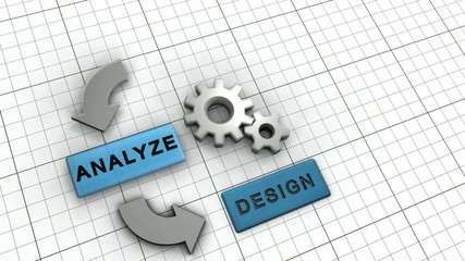 Process organigram animation (full hd)