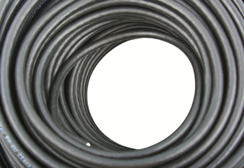 Black coaxial cable