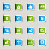 Label - Finance icons